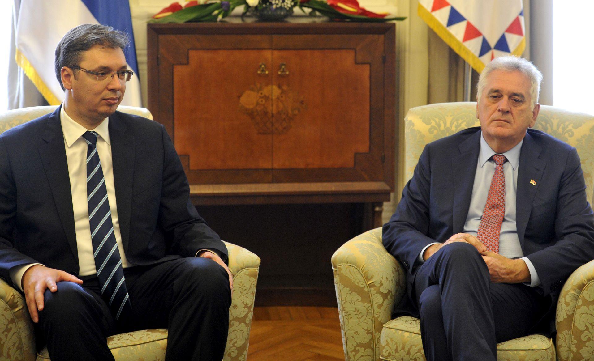 PAO DOGOVOR: Vučić će podržati Nikolića na predsjedničkim izborima 2017.