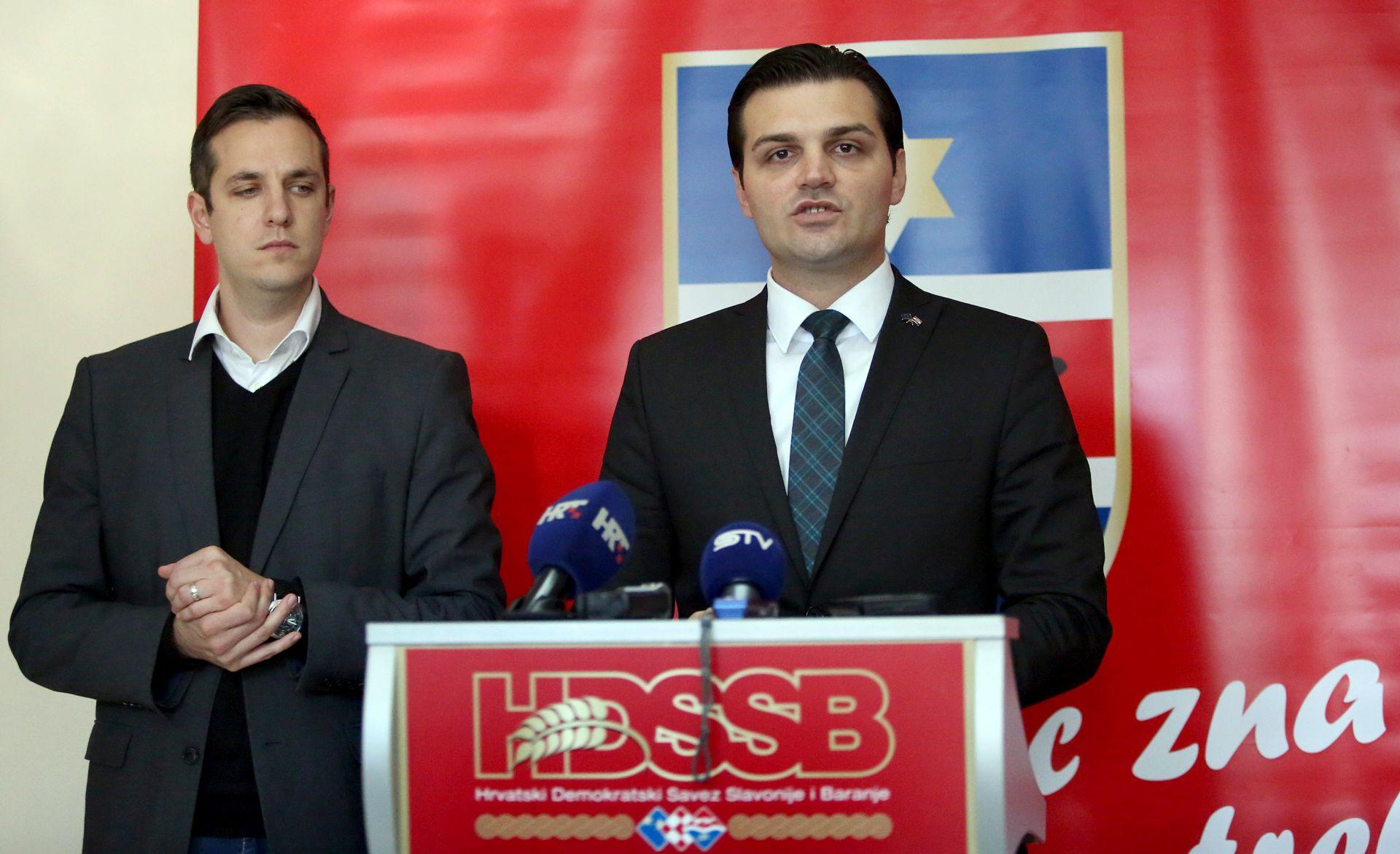 Vulin (HDSSB) novi predsjednik osječko-baranjske Županijske skupštine
