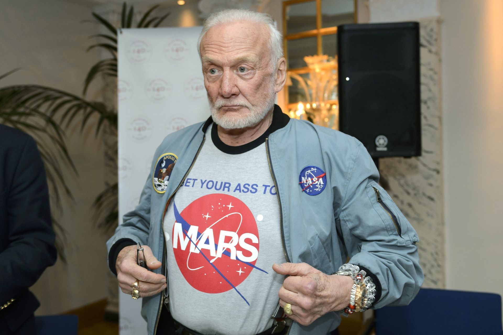 MEDICINSKI RAZLOZI: Astronaut Buzz Aldrin evakuiran s Južnog pola