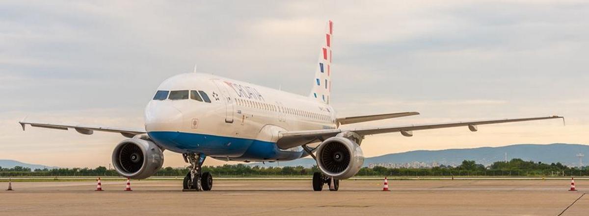 Na letu između Pariza i Zagreba tuča oštetila avion Croatia Airlinesa