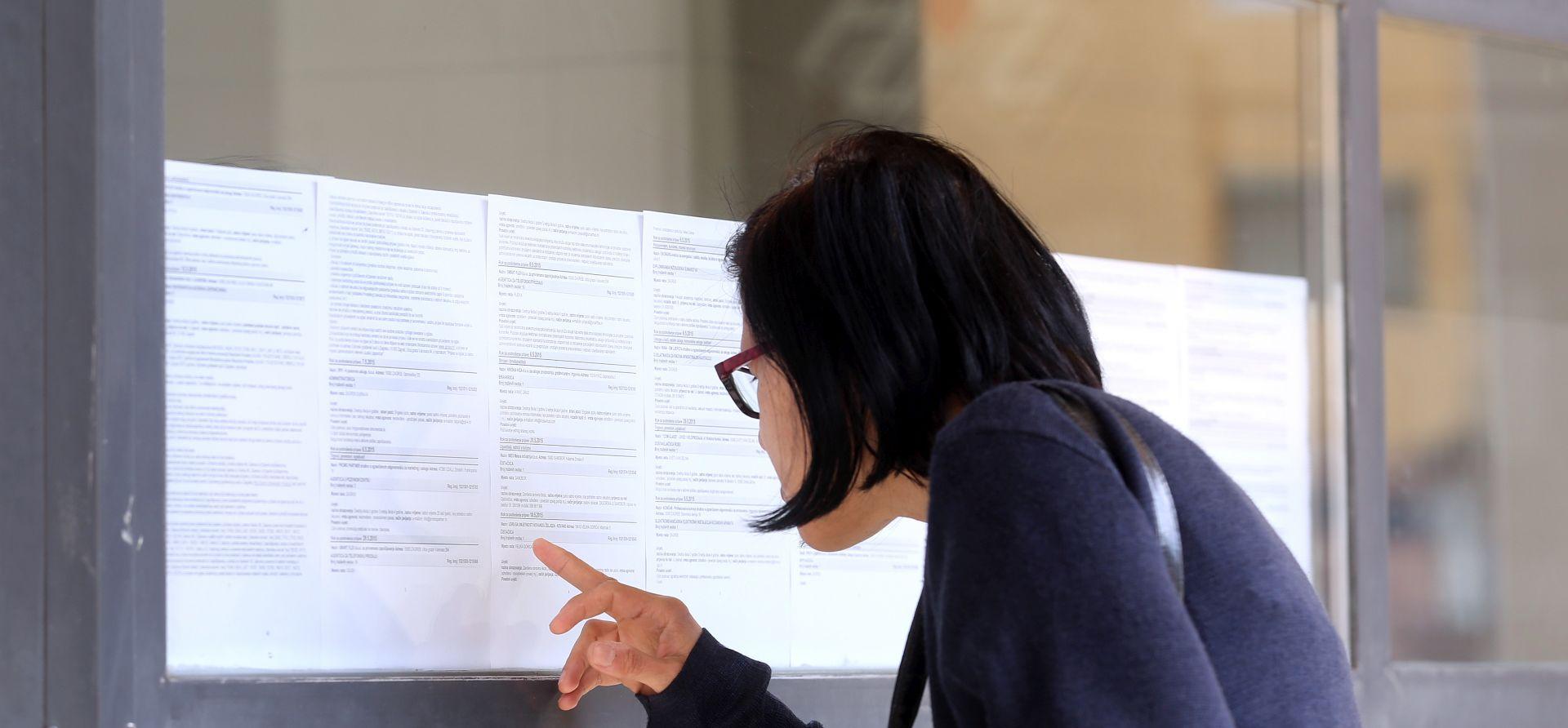 DZS Stopa nezaposlenosti porasla na 14,4 posto