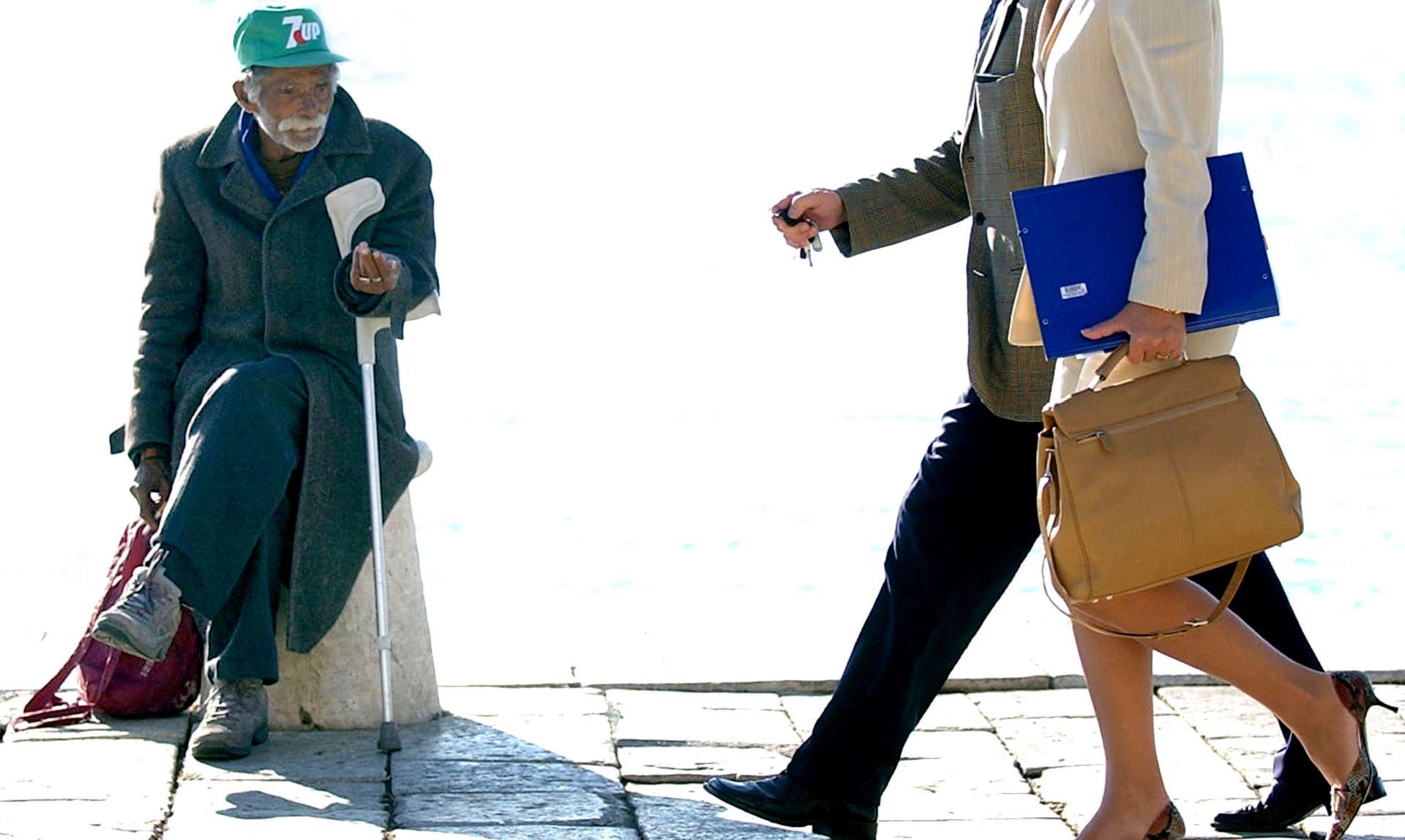 Hrvatska manje izdvaja za socijalnu zaštitu od prosjeka EU