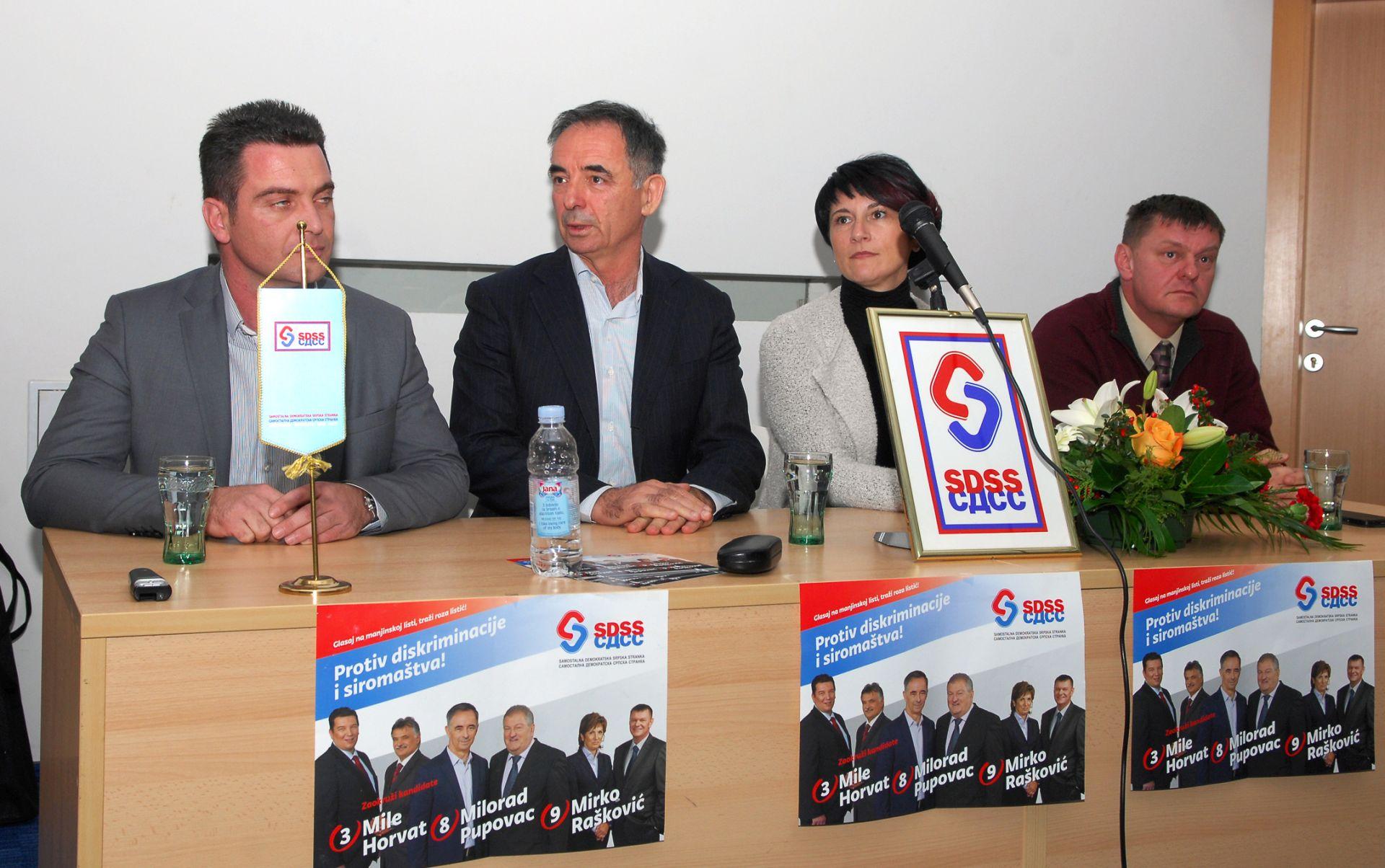 SDSS Najoštrija osuda nasilja nad demokracijom gospodina Željka Solde (HSP)