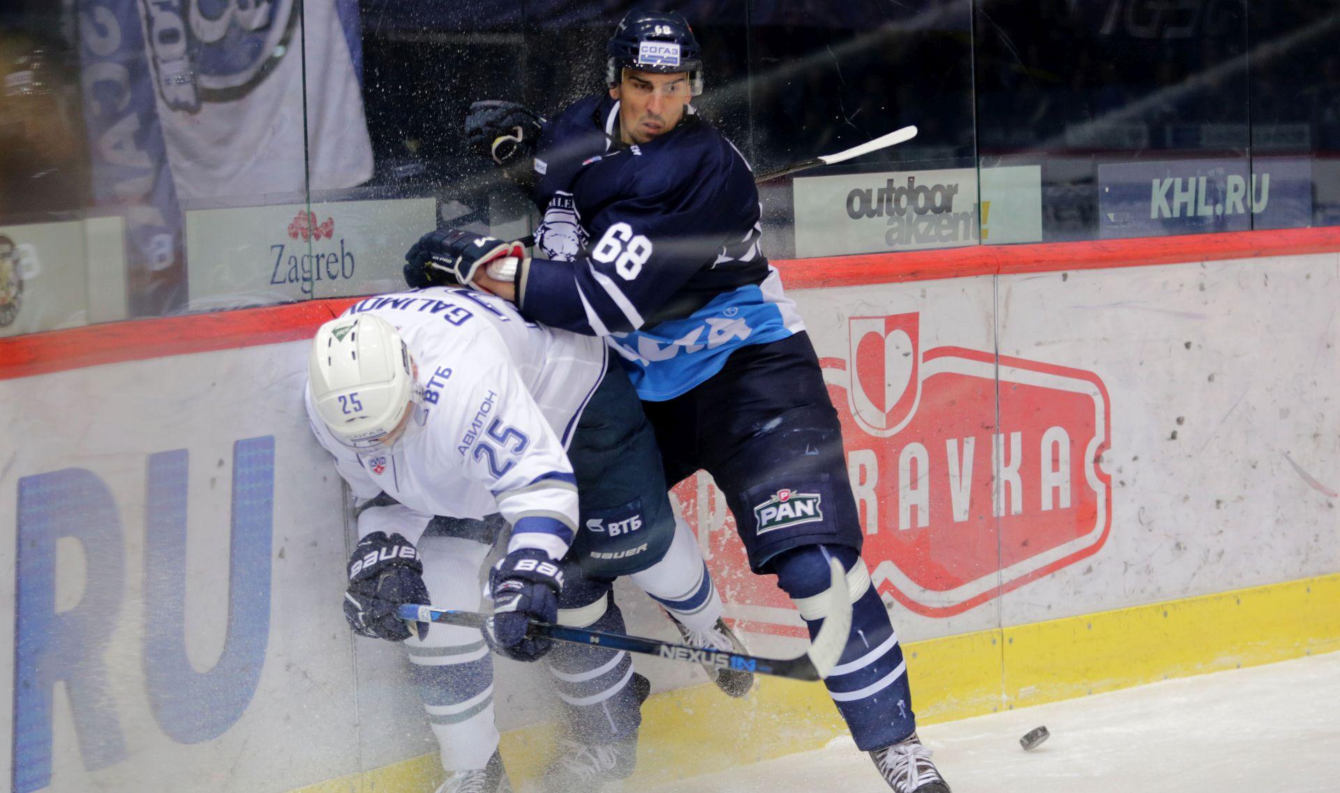 KHL Medveščak uvjerljivo poražen u Minsku