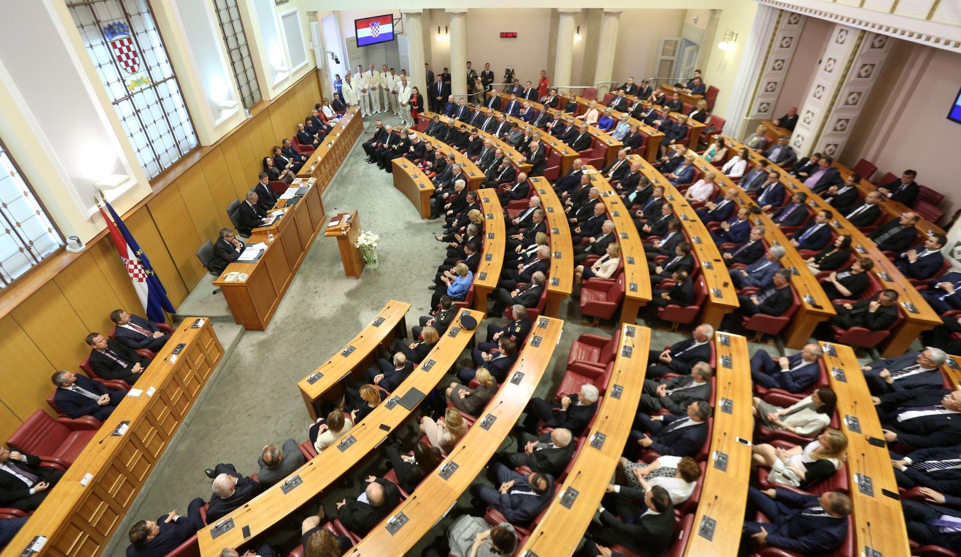 SABOR: U utorak o sporazumu Saveznog vijeća Švicarske i hrvatske Vlade