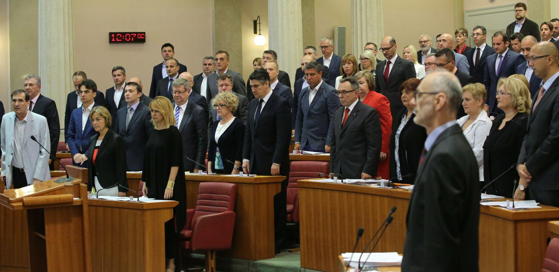 SABOR Minuta šutnje za prvog predsjednika Hrvatske