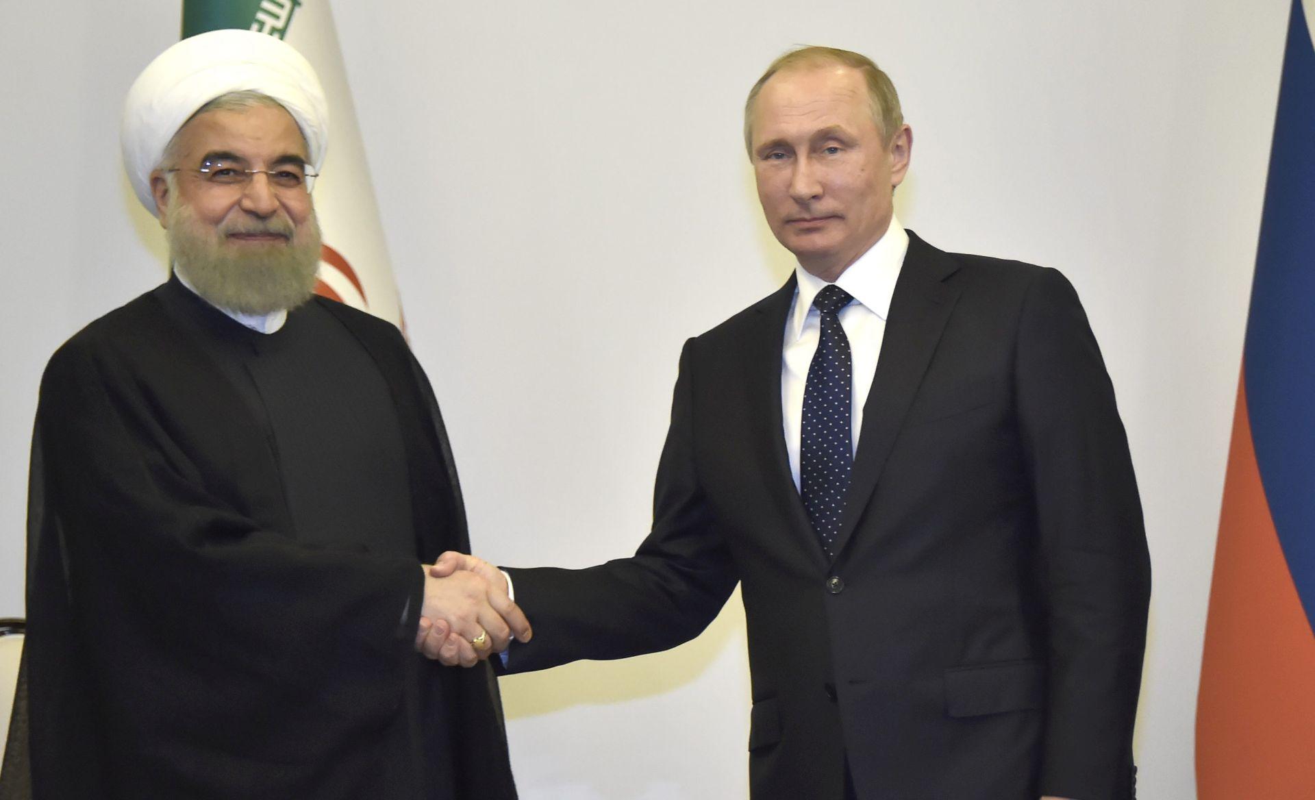 KREMLJ Putin i Rouhani dogovorili tijesnu suradnju radi okončanja krize u Siriji