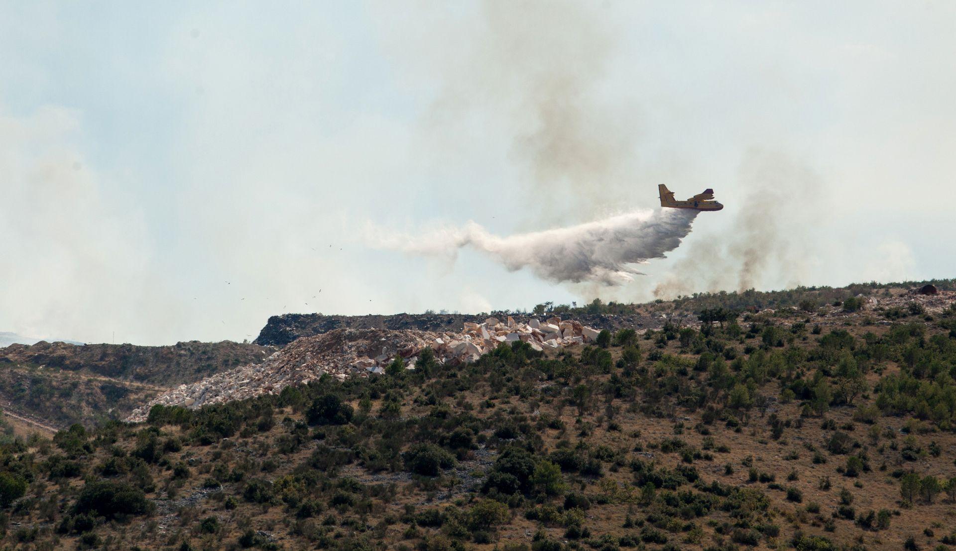 U požaru kod Ciste Velike izgorjelo 50-tak hektara šume