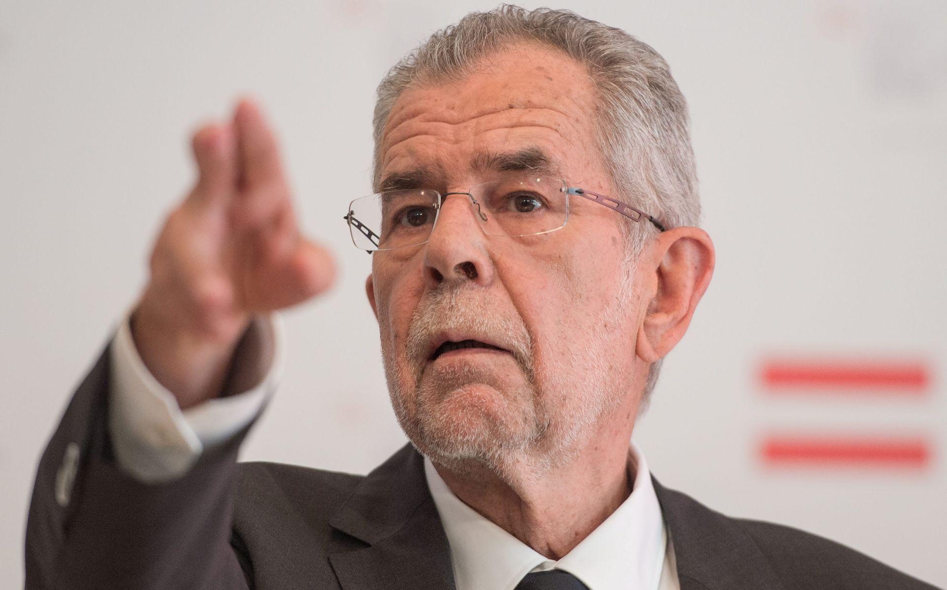 Proeuropski Van der Bellen postao zaštitno lice Austrije