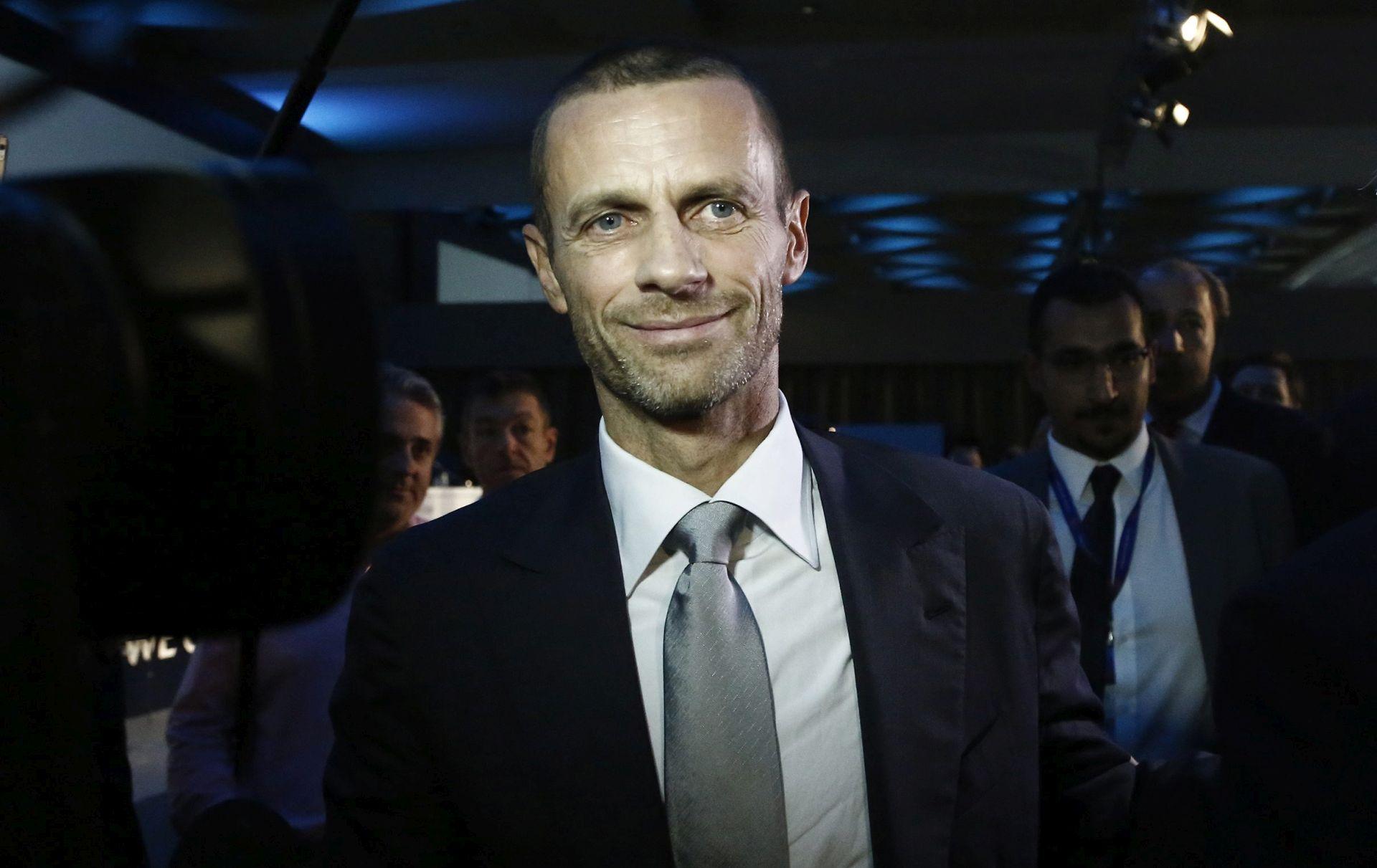 Promjena aktivnosti predsjednika UEFA-e Aleksandra Čeferina