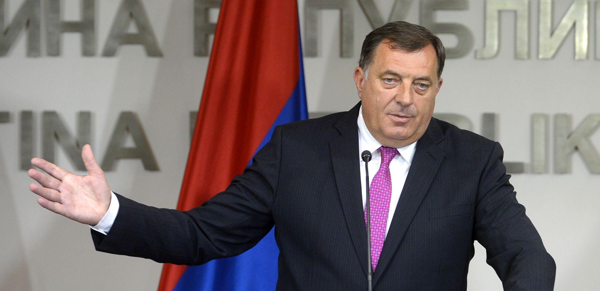 Dodik će tražiti poništavanje sankcija SAD-a