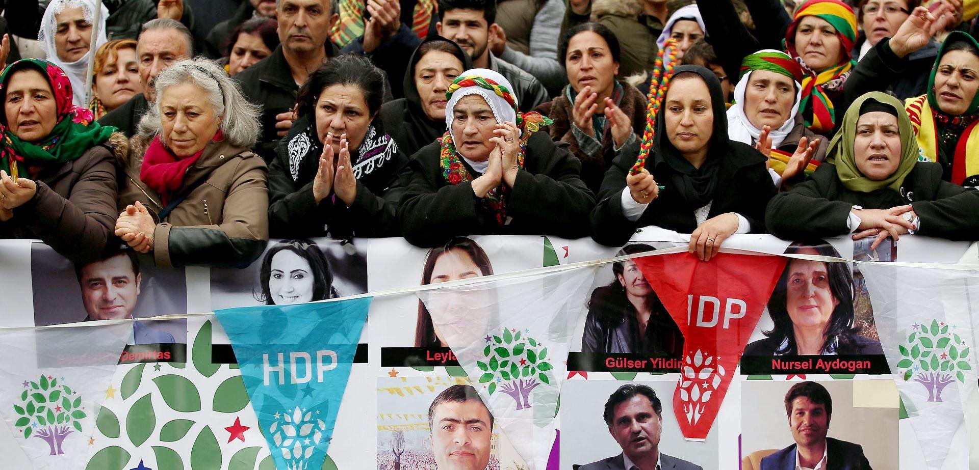 TURSKA Više od 100 uhićenih u operaciji protiv pripadnika prokurdske stranke HDP