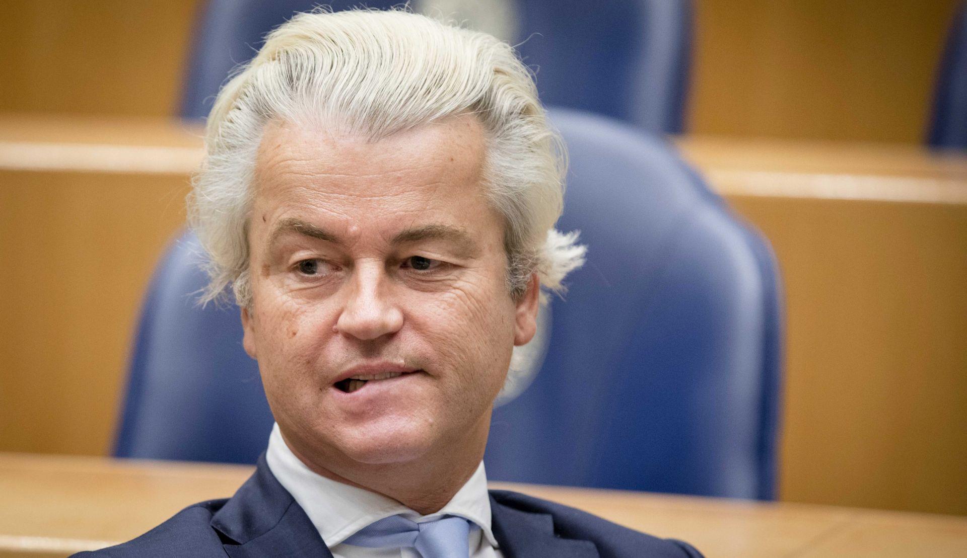 NIZOZEMSKA Geertu Wildersu pada popularnost