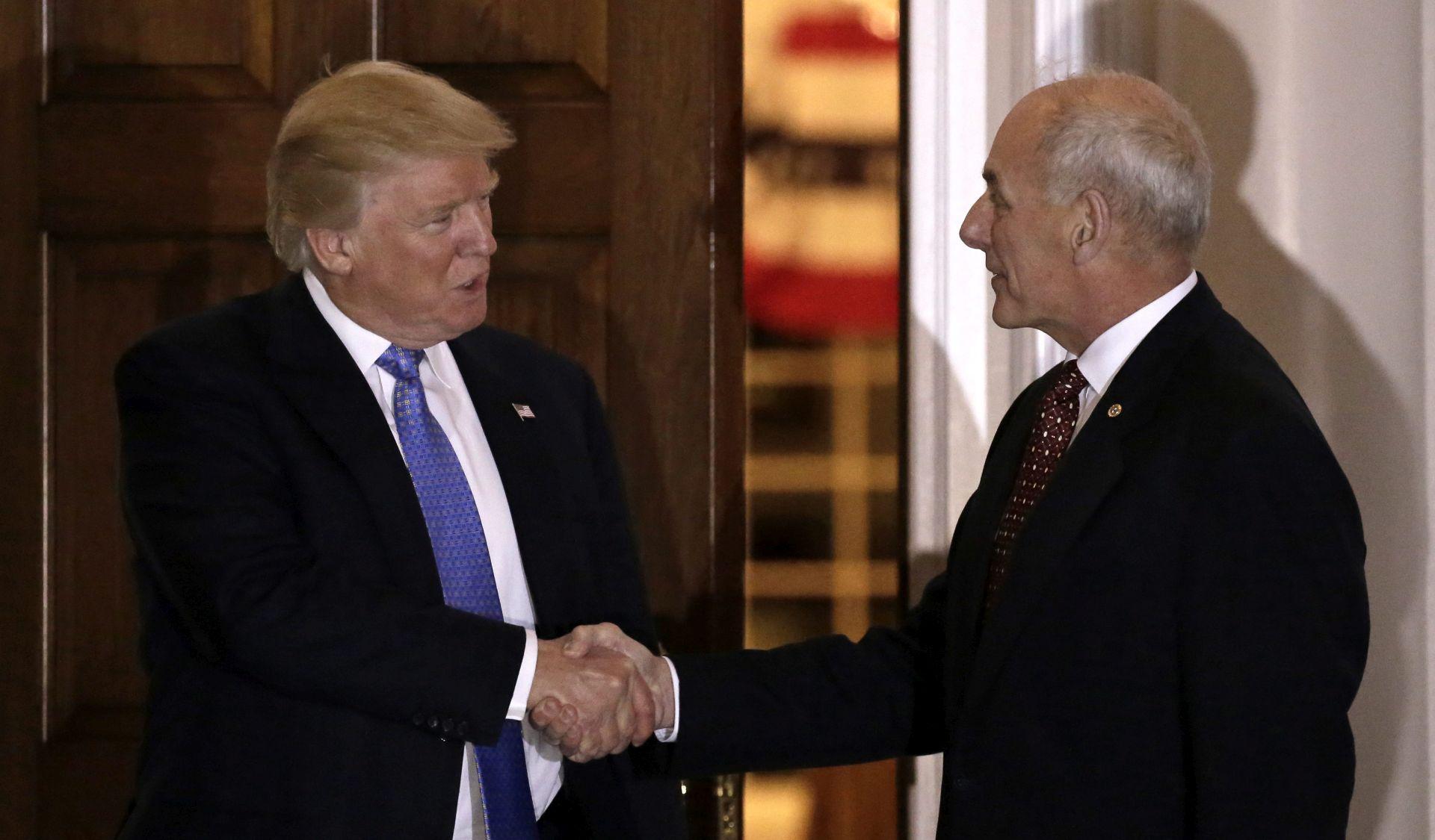 Trump odabrao umirovljenog generala Kellyja za novog ministra domovinske sigurnosti
