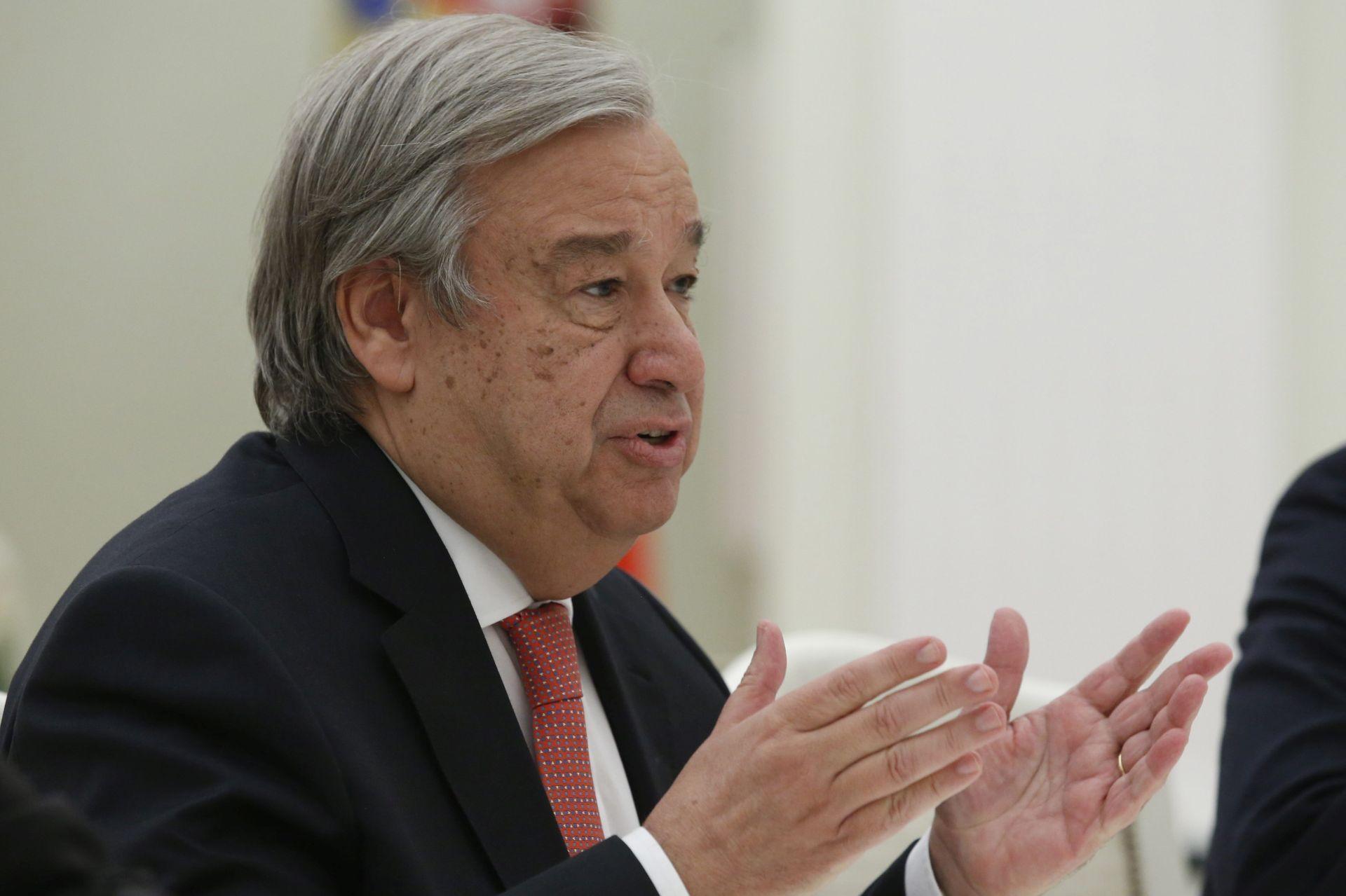 VIDEO: Kratki intervju s Antoniom Guterresom, glavnim tajnikom UN-a