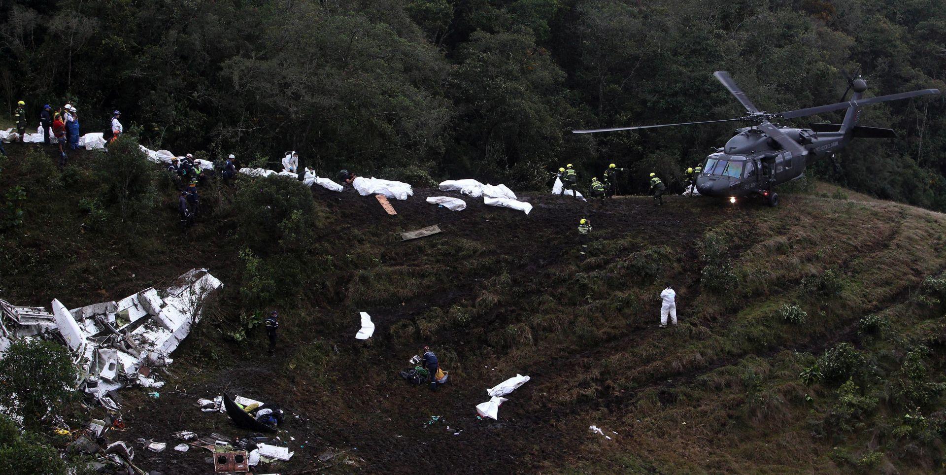 Uzrok pada kolumbijskog zrakoplova s nogometnom momčadi je ljudska pogreška