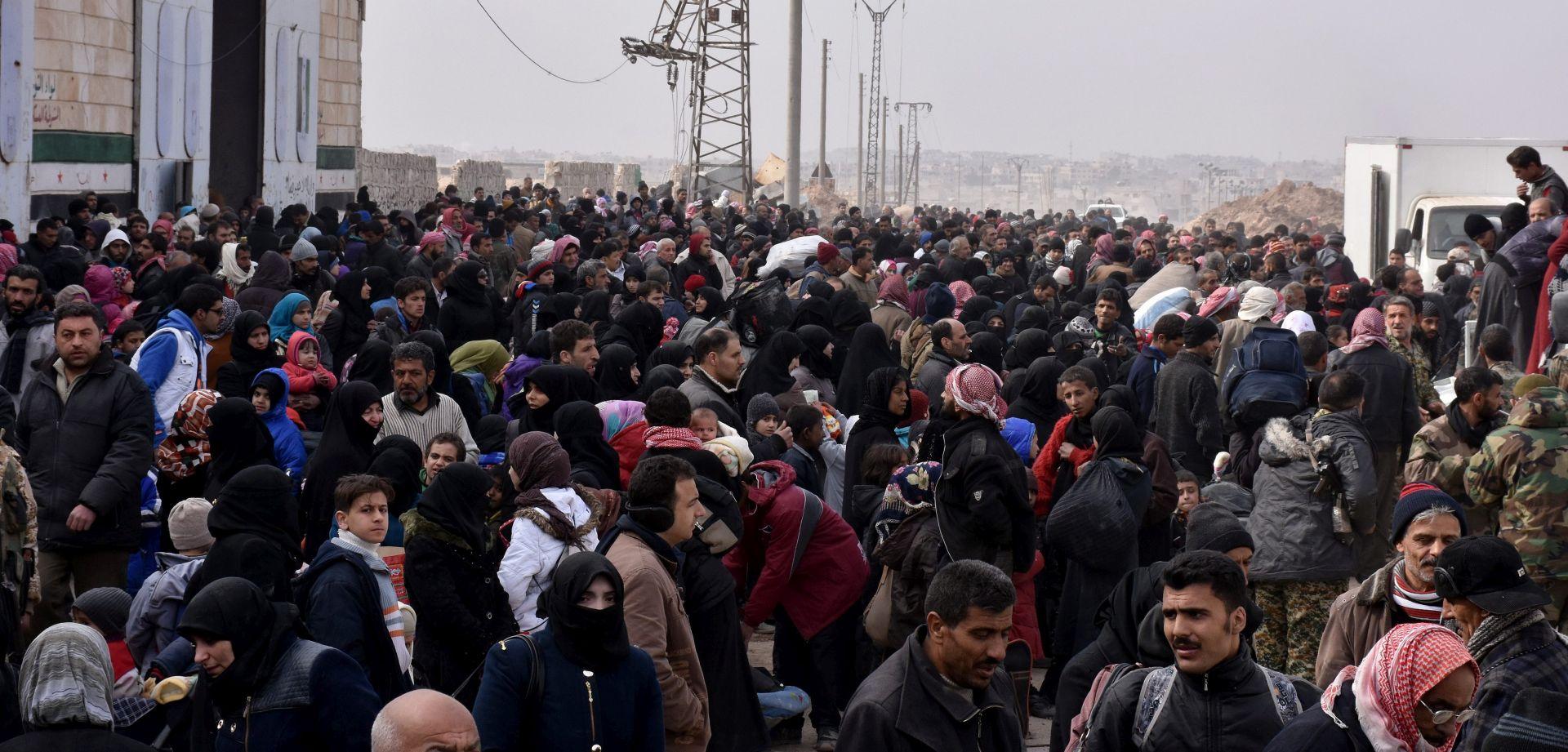Šest zapadnih gradova pozvalo na hitan prekid vatre u Alepu
