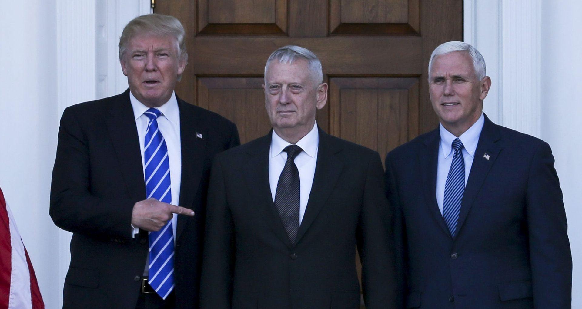 """'LUDI PAS' Trump imenovao Mattisa ministrom obrane: """"On je najbolje što imamo"""""""