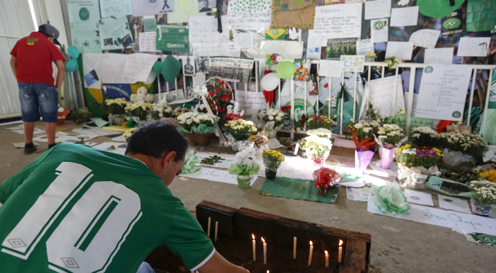 BRAZIL Tijela poginulih danas se vraćaju u Chapeco, očekuje se 100 tisuća ljudi