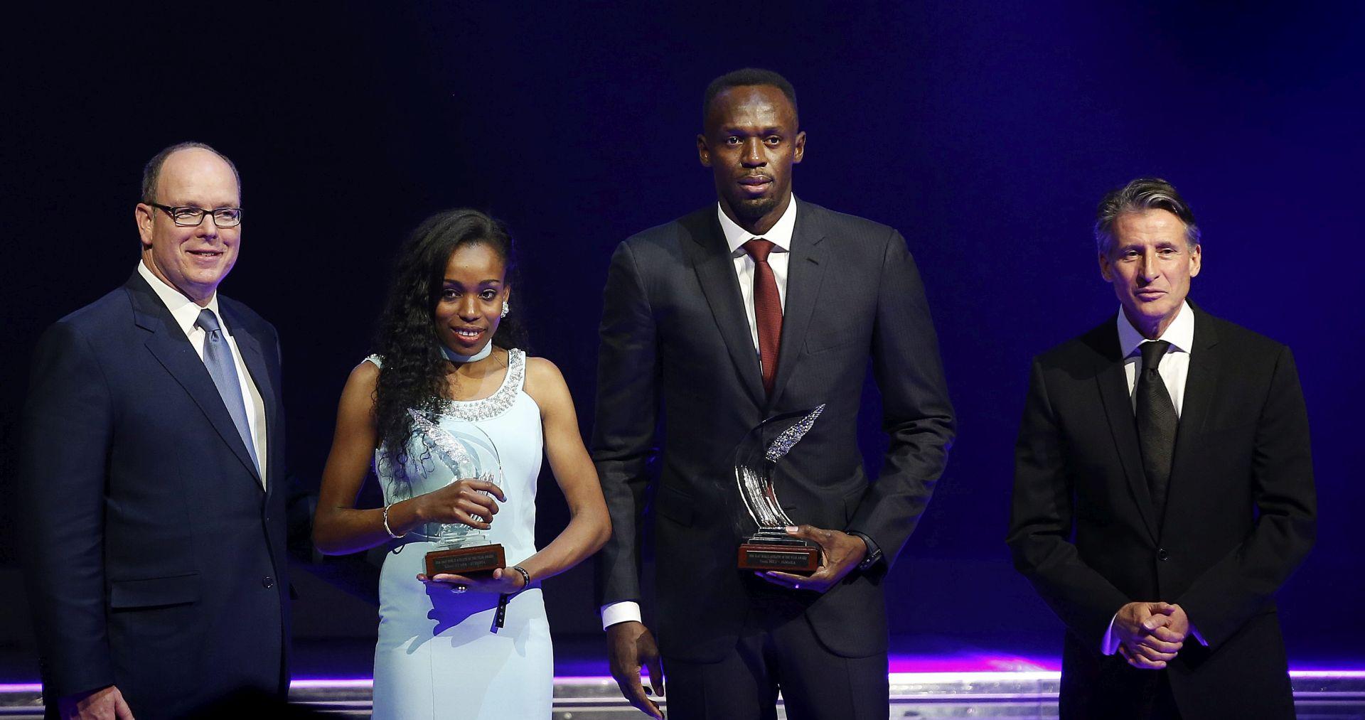 IAAF NAGRADE Usain Bolt i Almaz Ayana najbolji atletičari 2016.