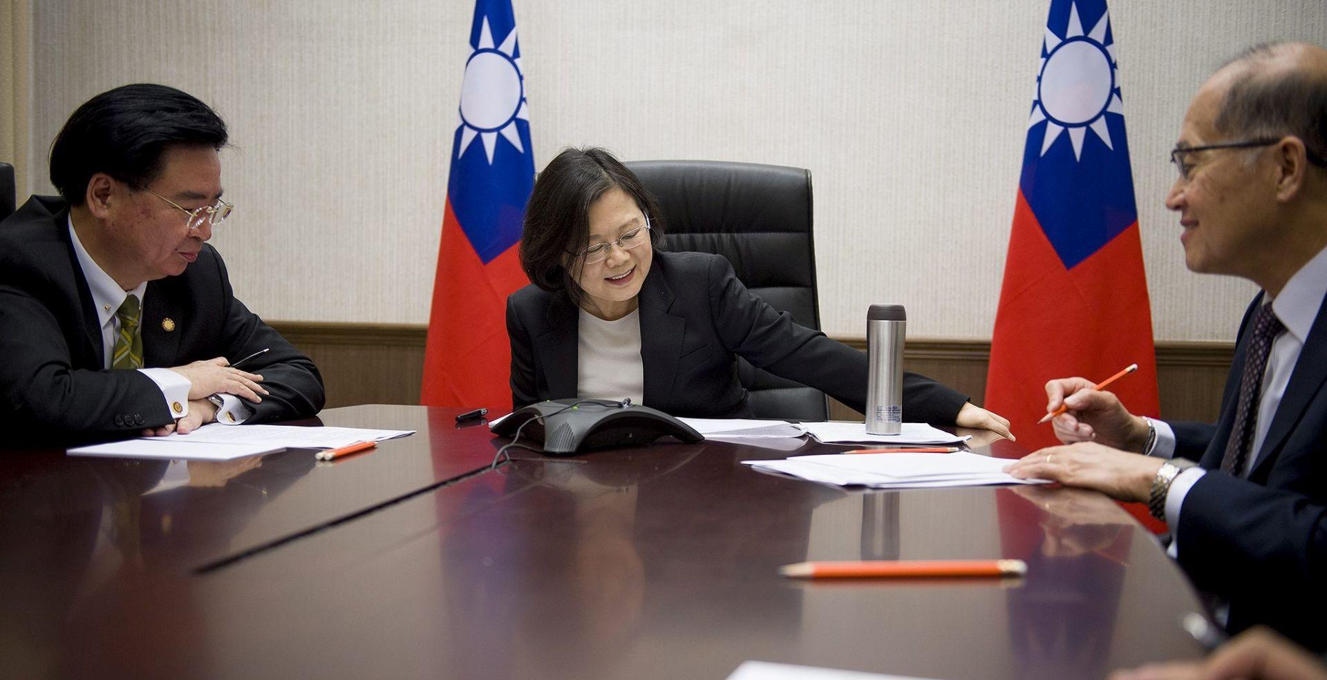 Poziv Tajvana Trumpu – samo kurtoazni poziv