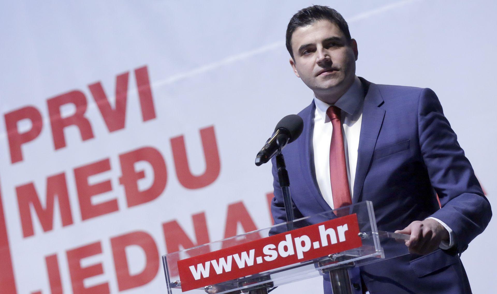 BERNARDIĆ Hrvatskoj je potrebna promjena, SDP je mora pokrenuti