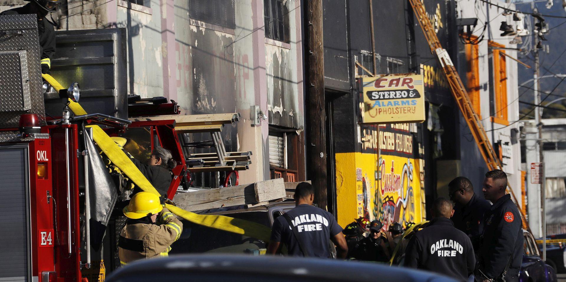 OAKLAND Broj žrtava požara na koncertu narastao na 24