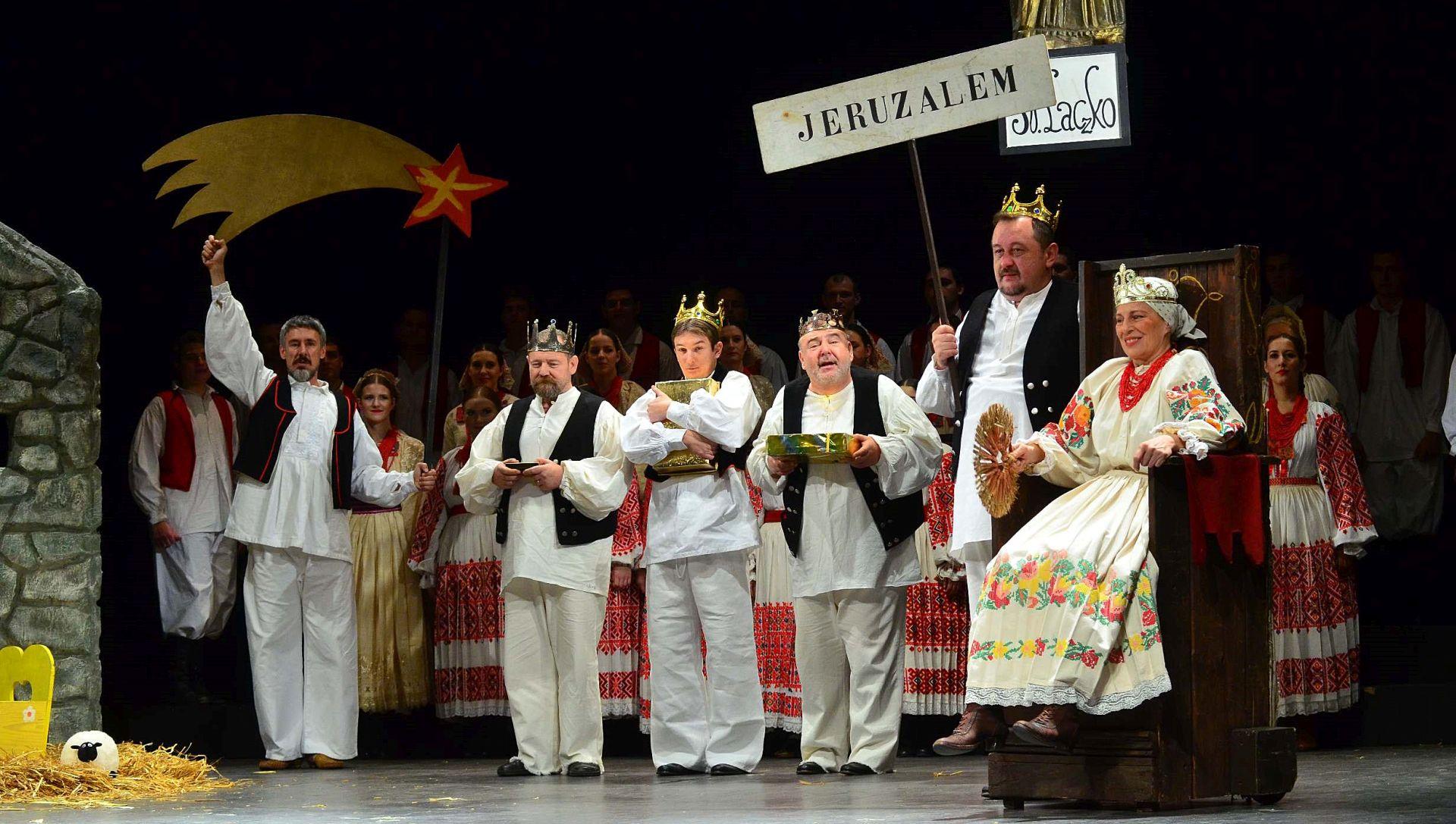 Predstava i koncert za advent u kazalištu Komediji