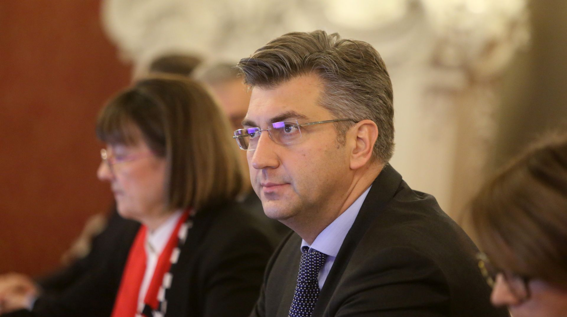 """Plenković kaže da je s Bidenom """"vrlo načelno"""" razgovarao o blokadi Srbije"""