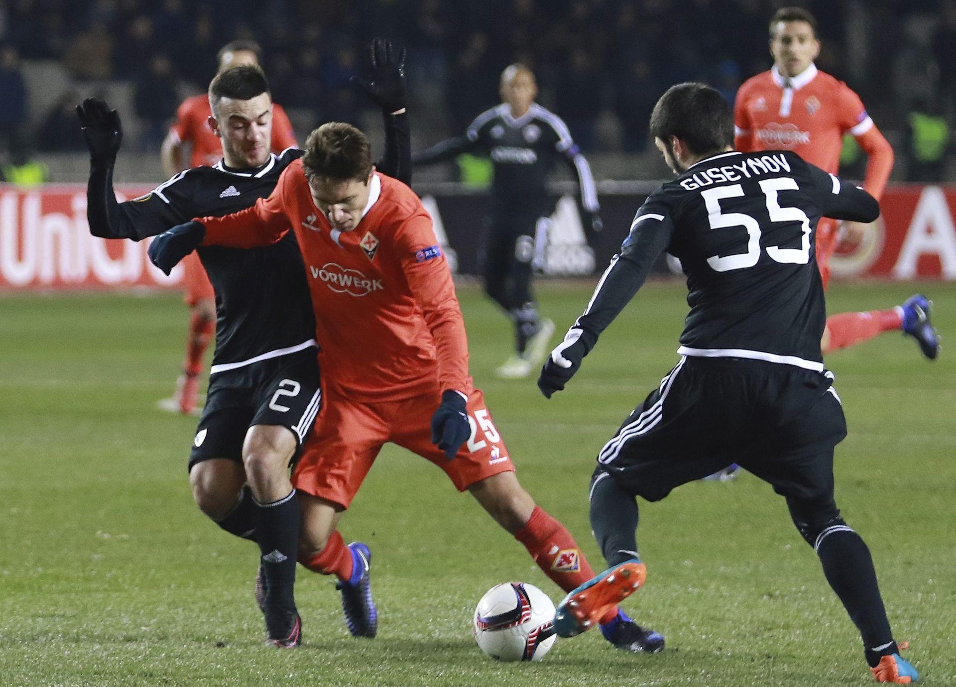 EL – Pobjede Fiorentine i PAOK-a, asistencije Kalinića i Leovca