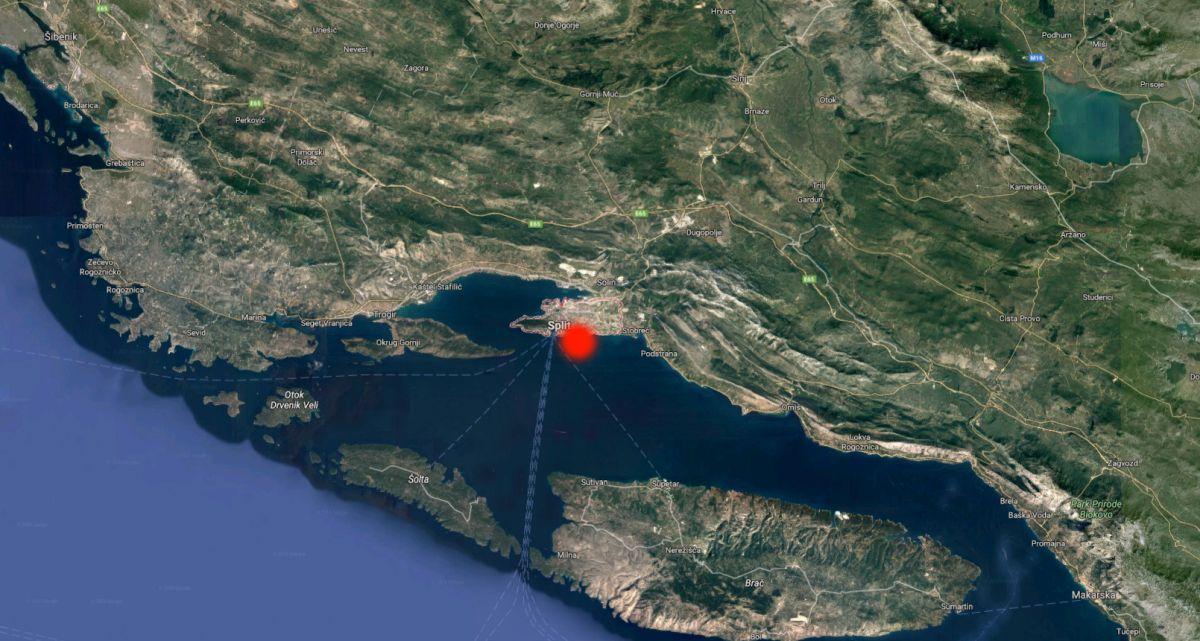 SNAŽAN POTRES U SPLITU Baldasar: 'Nema veće materijalne štete, Split je spreman u slučaju novog potresa'