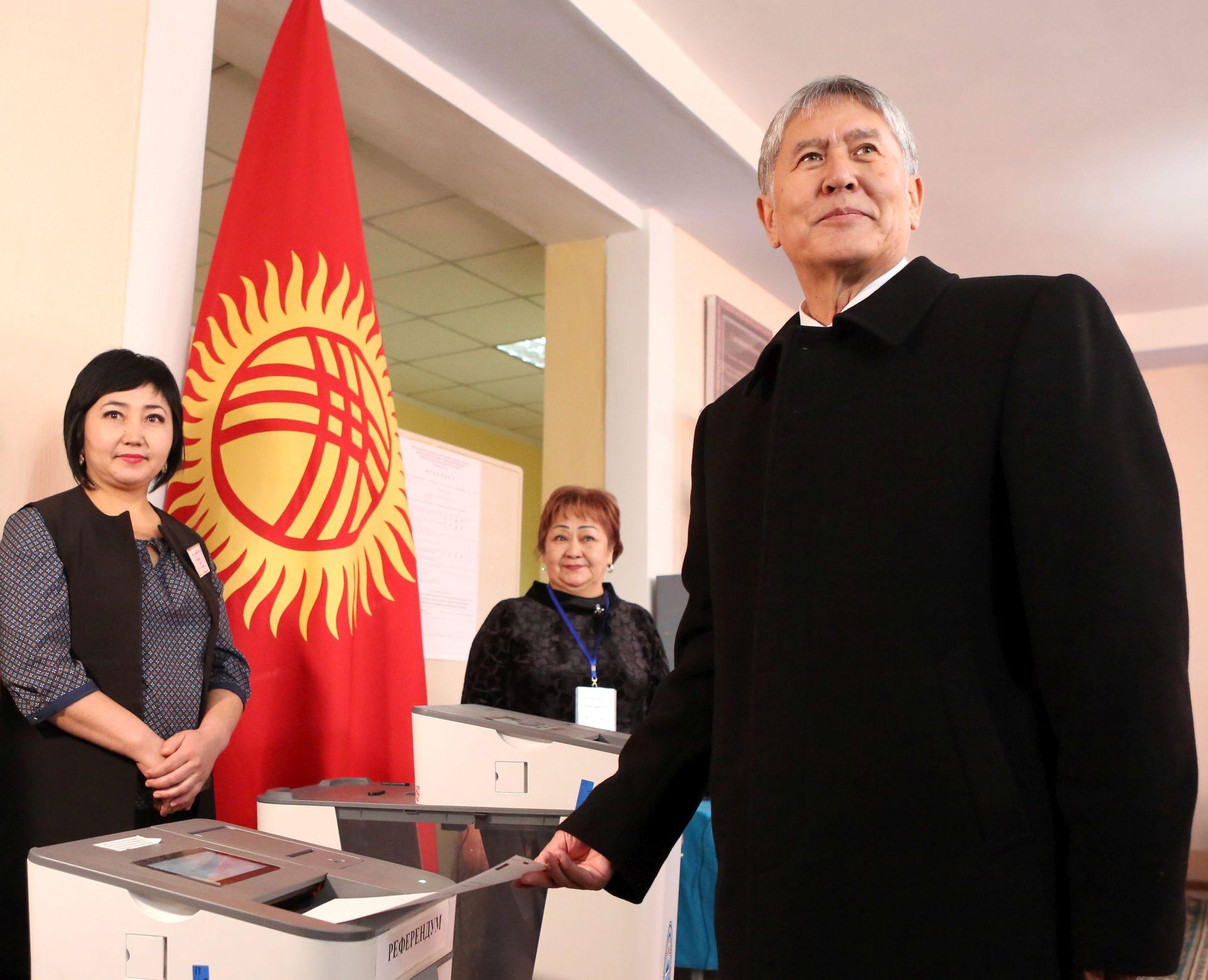 Kirgistan podržao kontroverznu ustavnu reformu