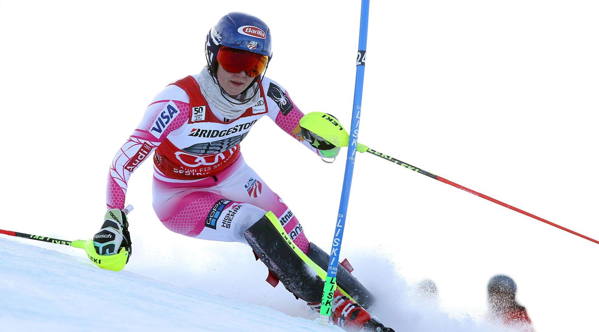 Shiffrin pobjednica slaloma u Sestriereu