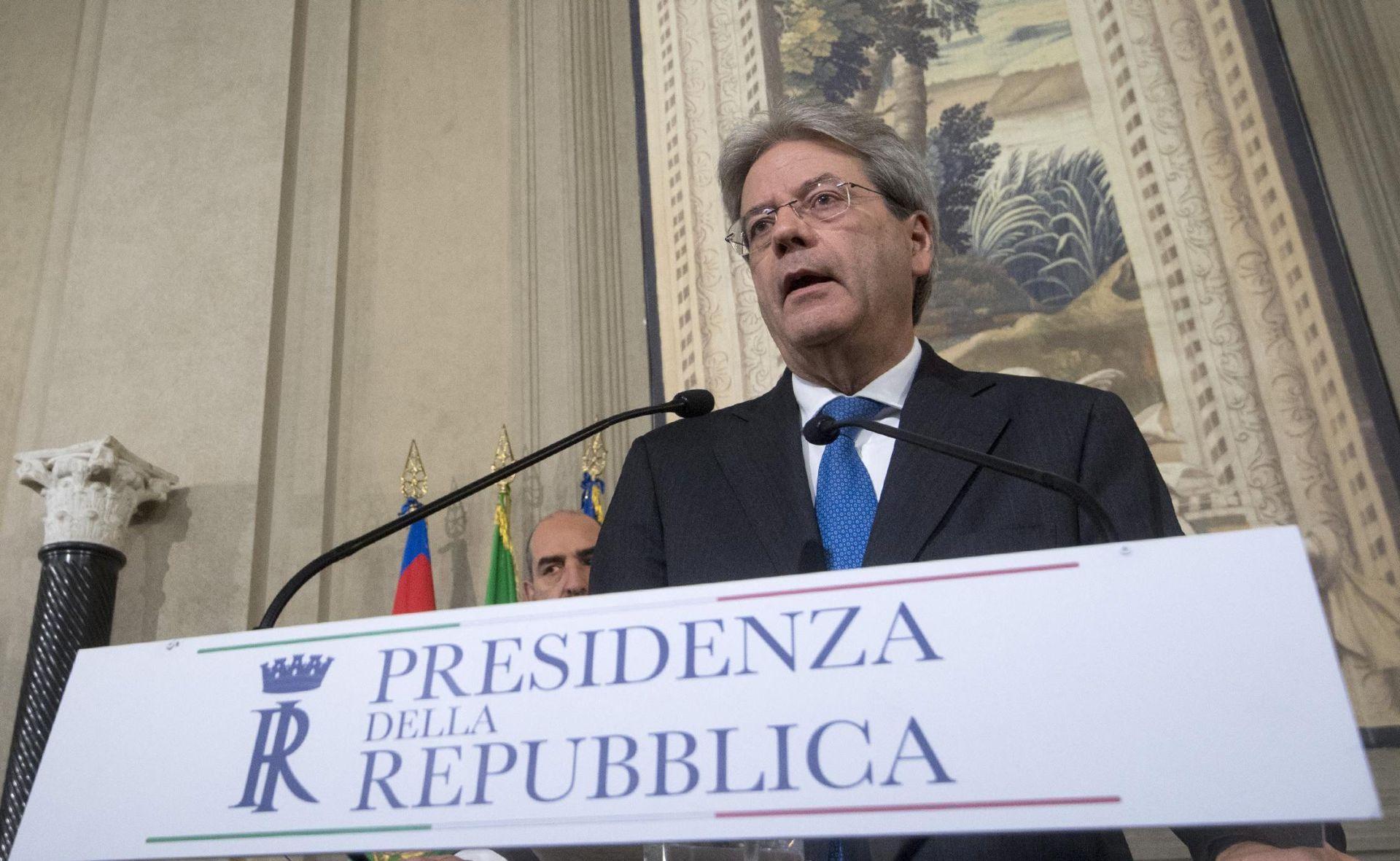 Paolo Gentiloni, peti talijanski premijer u isto toliko godina