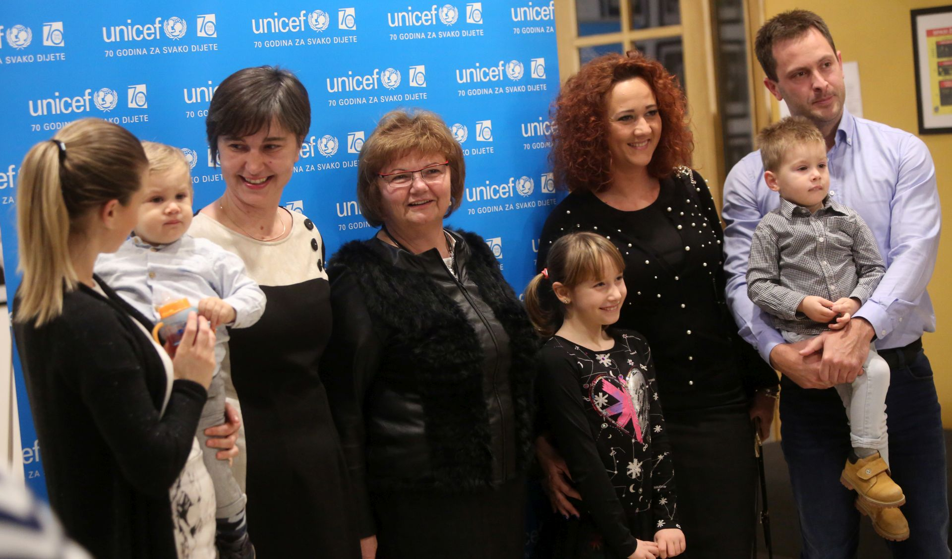 ZAGREB: UNICEF proslavio 70. rođendan