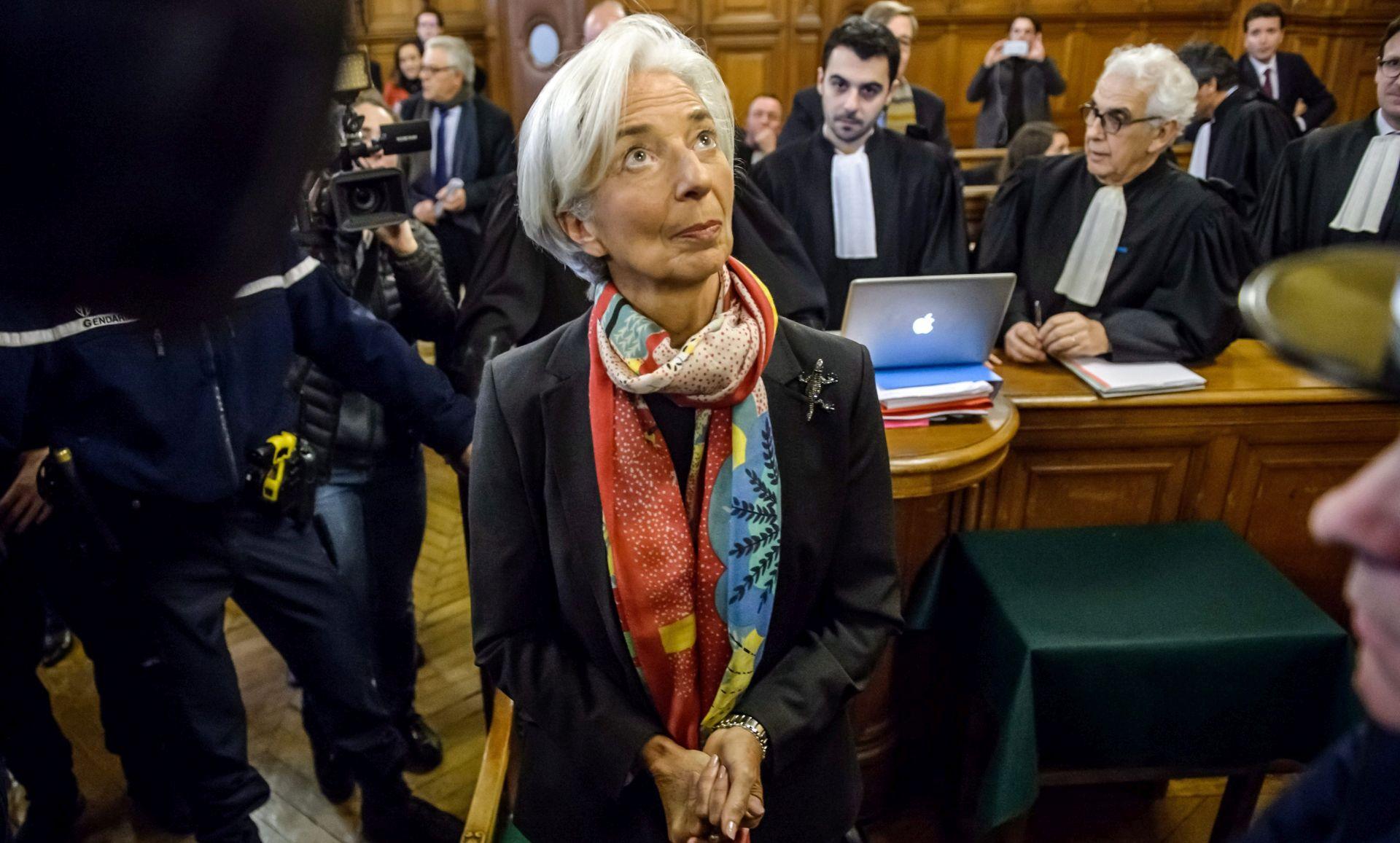 Francuski tužitelj protiv osude šefice MMF-a Christine Lagarde