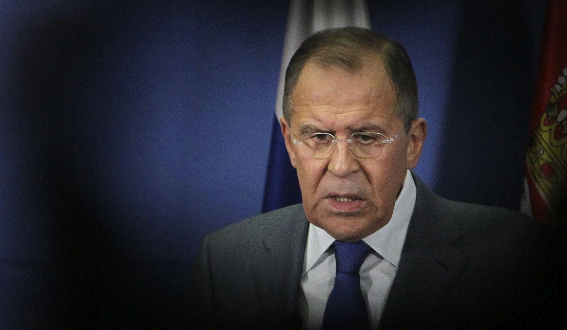 """LAVROV """"Rusija protjeruje 60 američkih diplomata i zatvara konzulat u Sankt Petersburgu"""""""