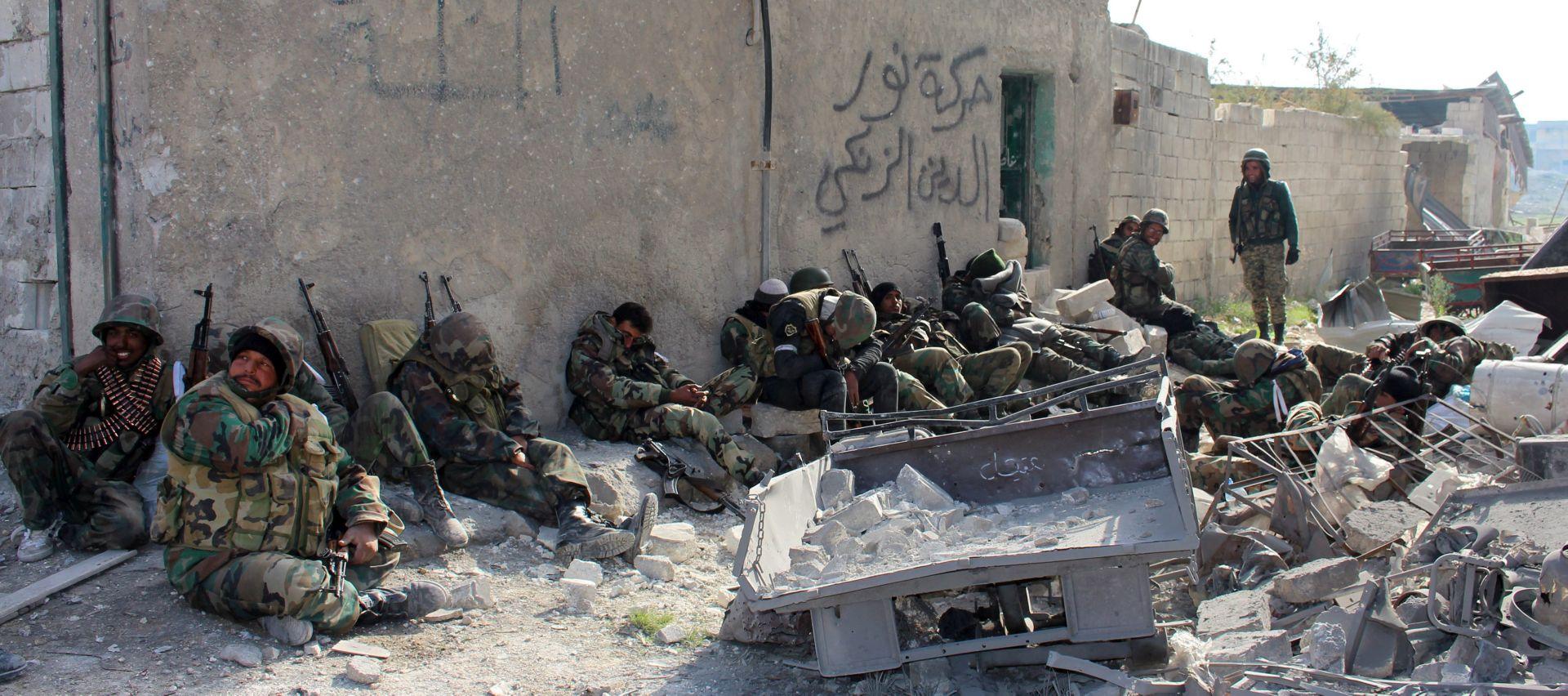 Sirijski režim na korak do pobjede u Alepu; poslan apel za zaštitu civila