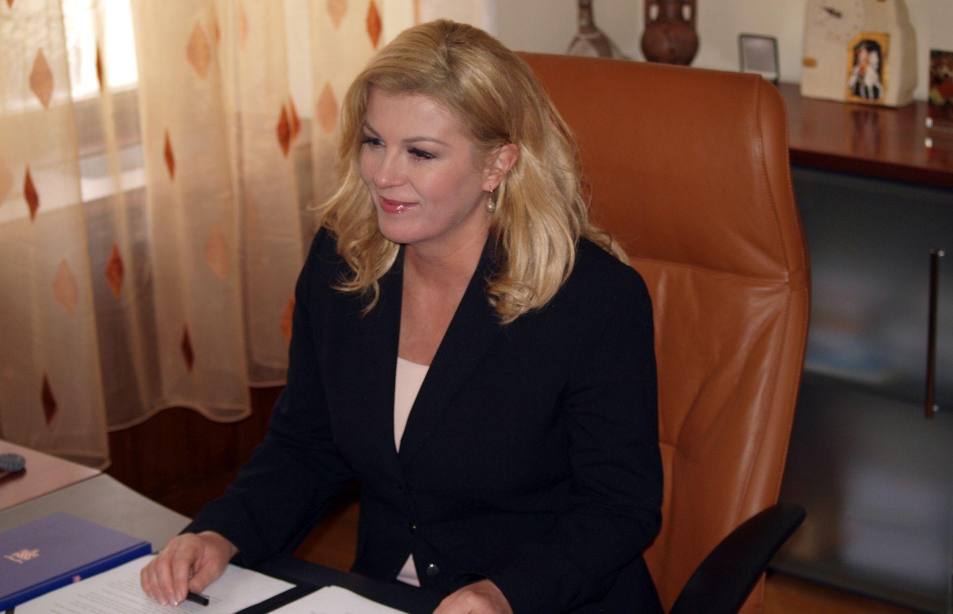 Predsjednica Grabar-Kitarović sljedeći tjedan u SAD-u