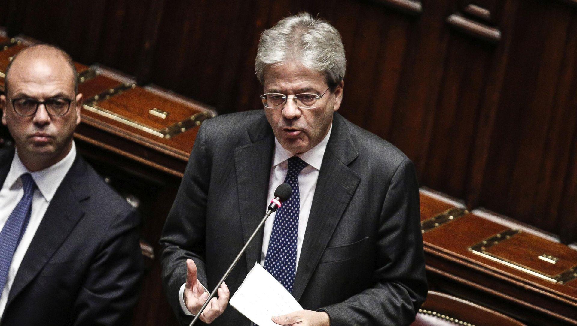 Donji dom parlamenta izglasao povjerenje Gentiloniju