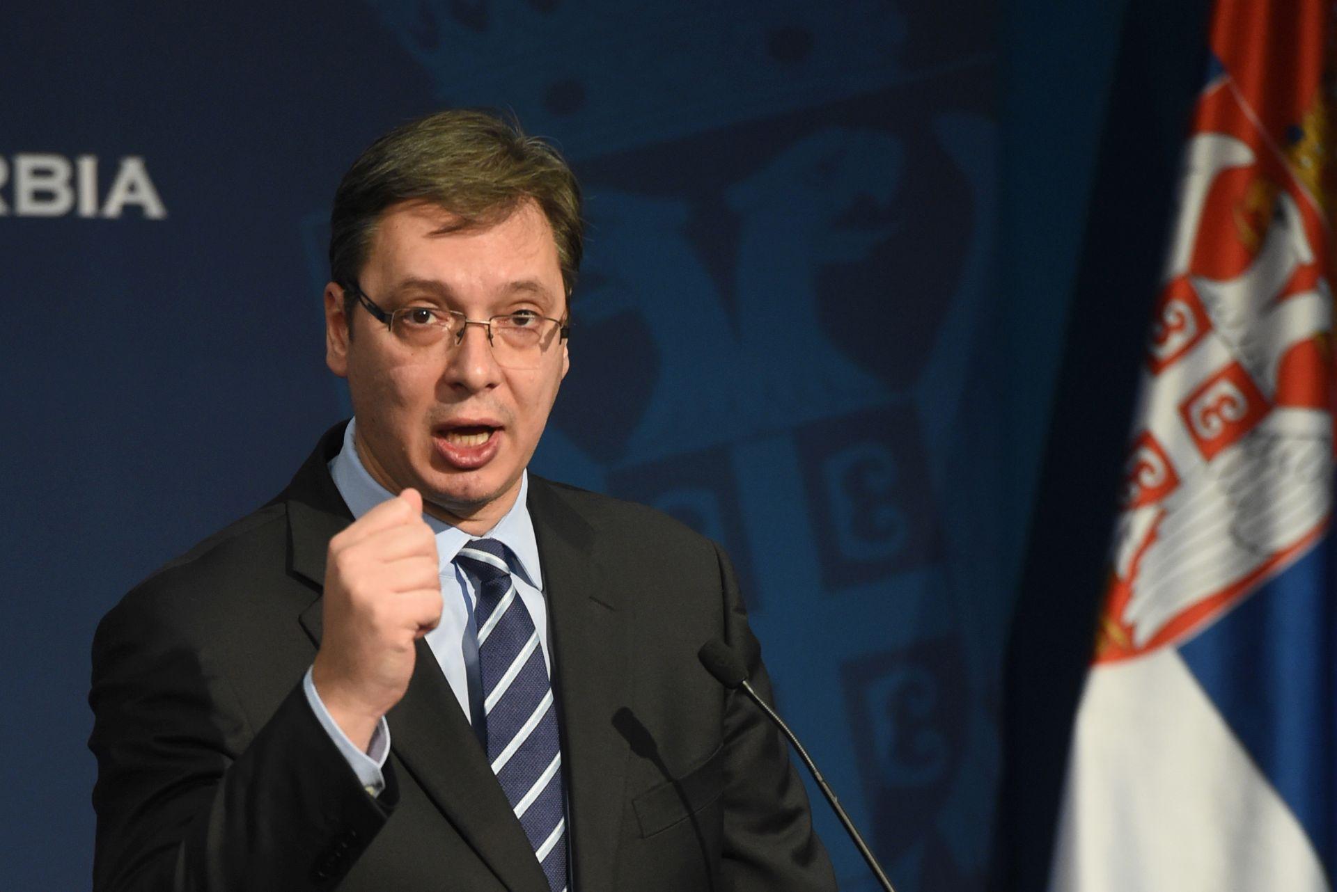 Vučić nezadovoljan ponašanjem EU i Prištine prema Beogradu