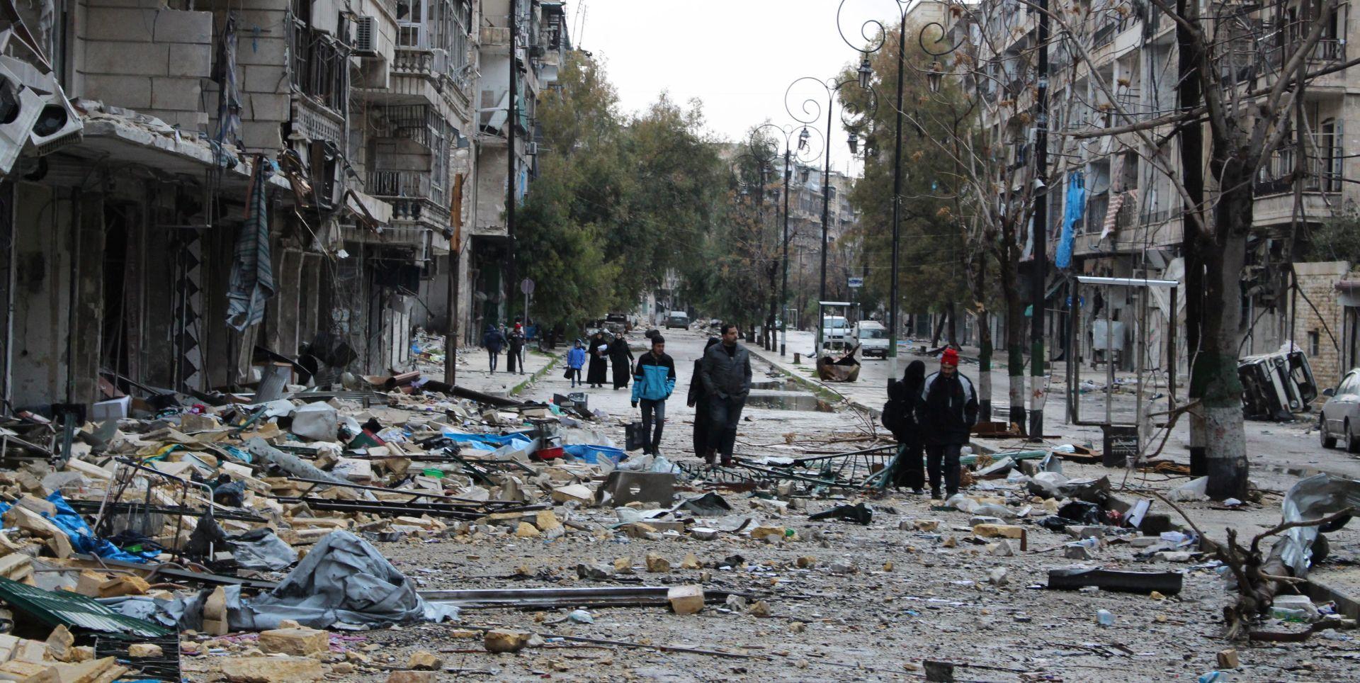 REŽIM SLAVI POBJEDU Počela evakuacija pobunjenika i civila iz Alepa