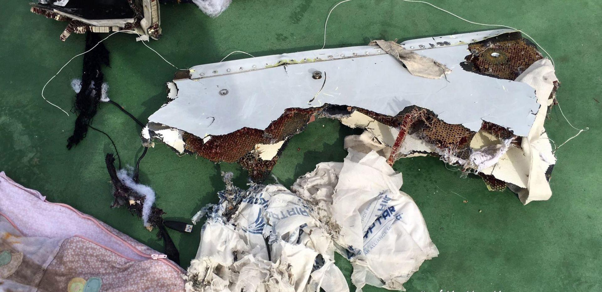 Tragovi eksploziva na tijelima žrtava nesreće egipatskog zrakoplova