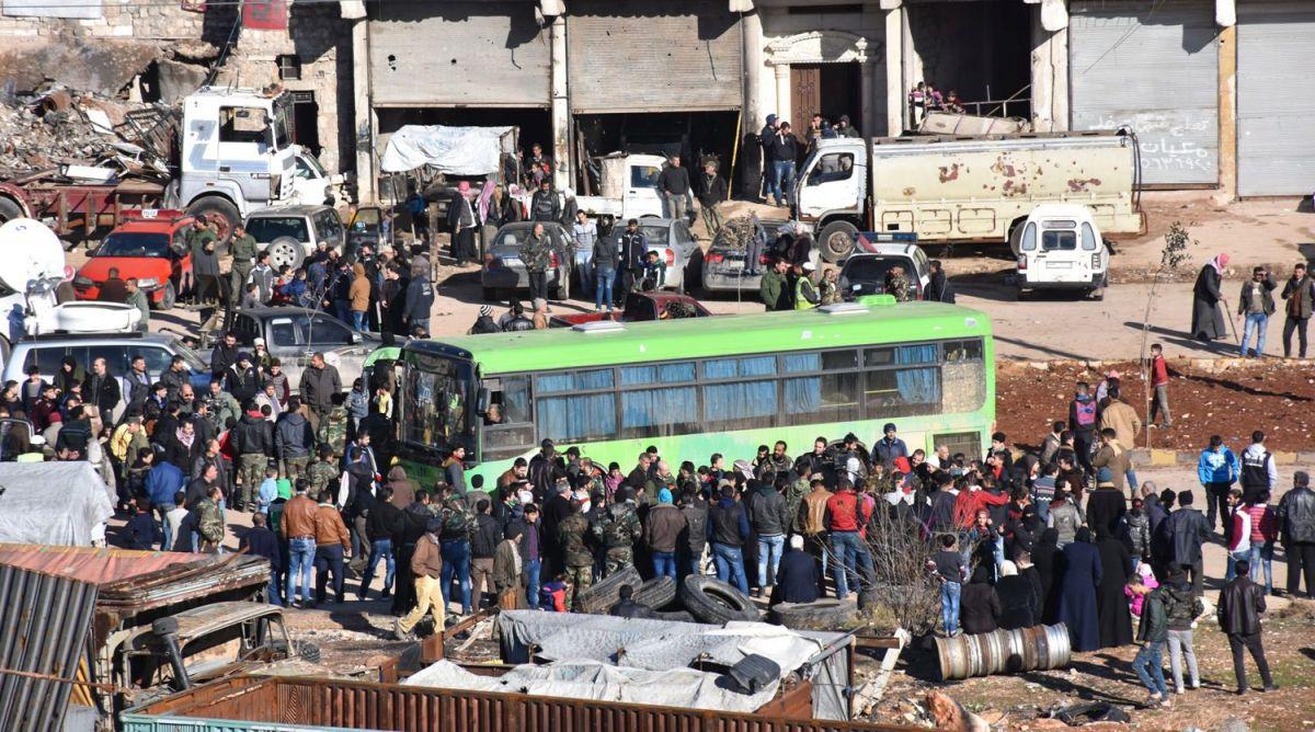 Drugi konvoj krenuo iz Alepa