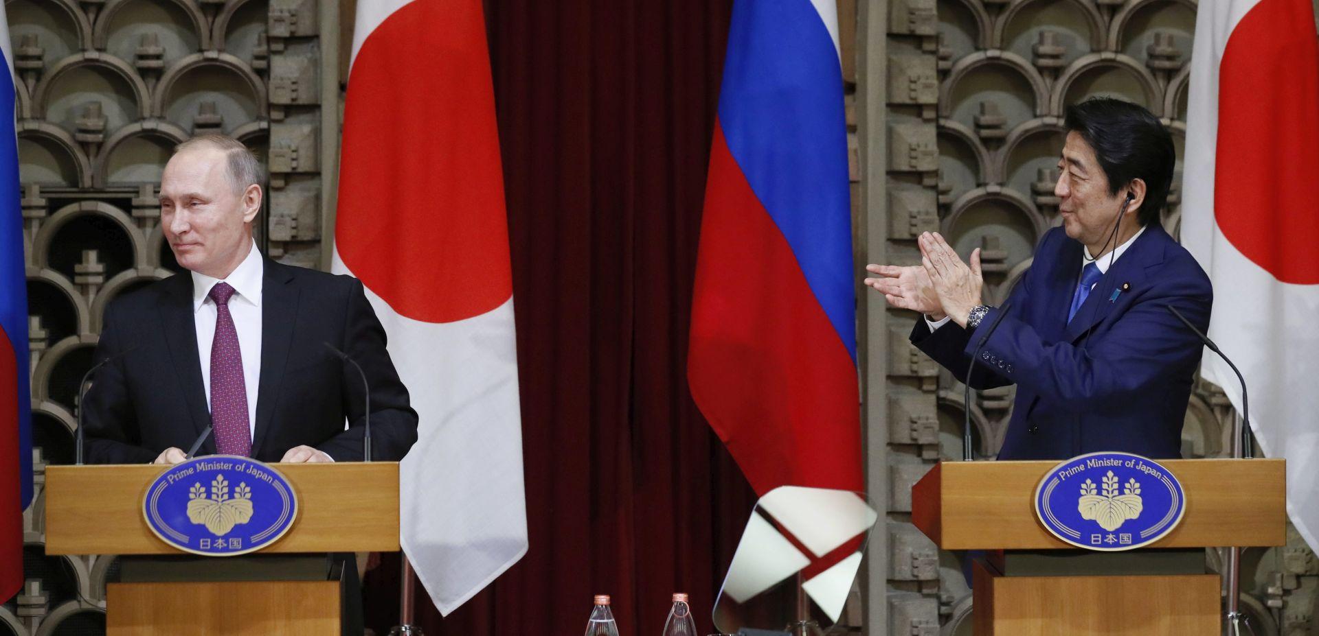 Abe i Putin zaključili dvodnevne razgovore bez dogovora o spornim otocima