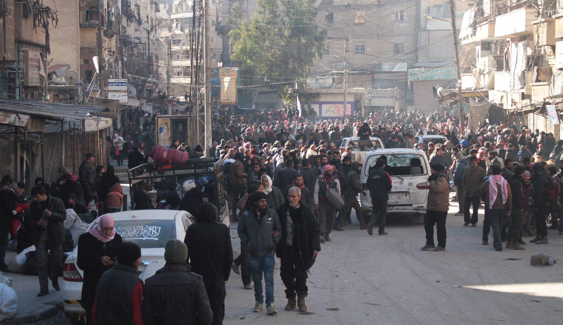 Prekinuta operacija evakuacije Alepa