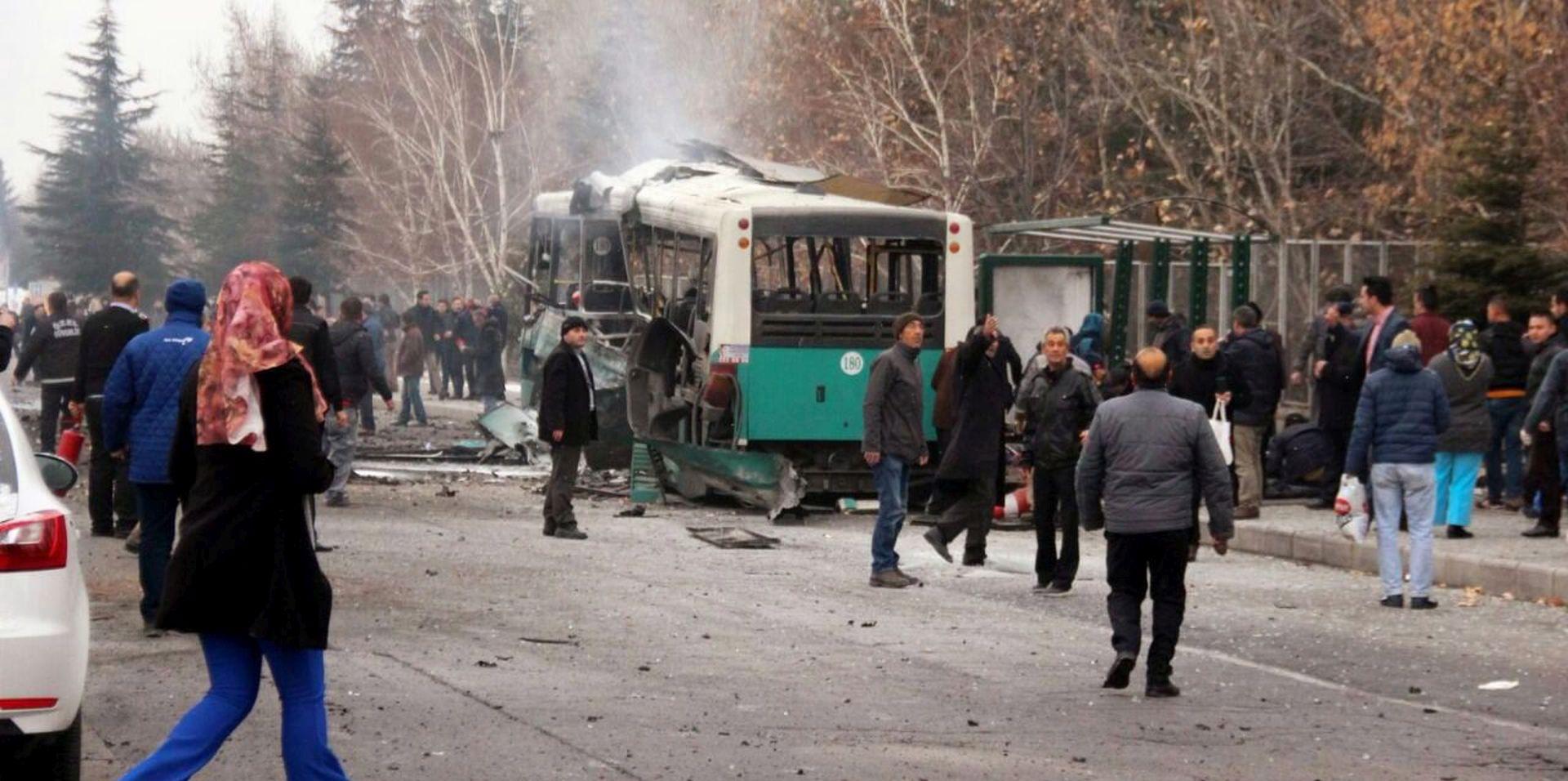 ERDOGAN 'Iza ubojstva 13 i ranjavanja 50 ljudi stoji PKK'