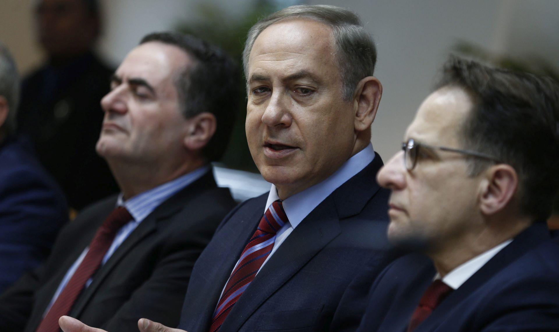 Netanyahu planirao vladu jedinstva ne bi li podupro uspostavu mira u regiji