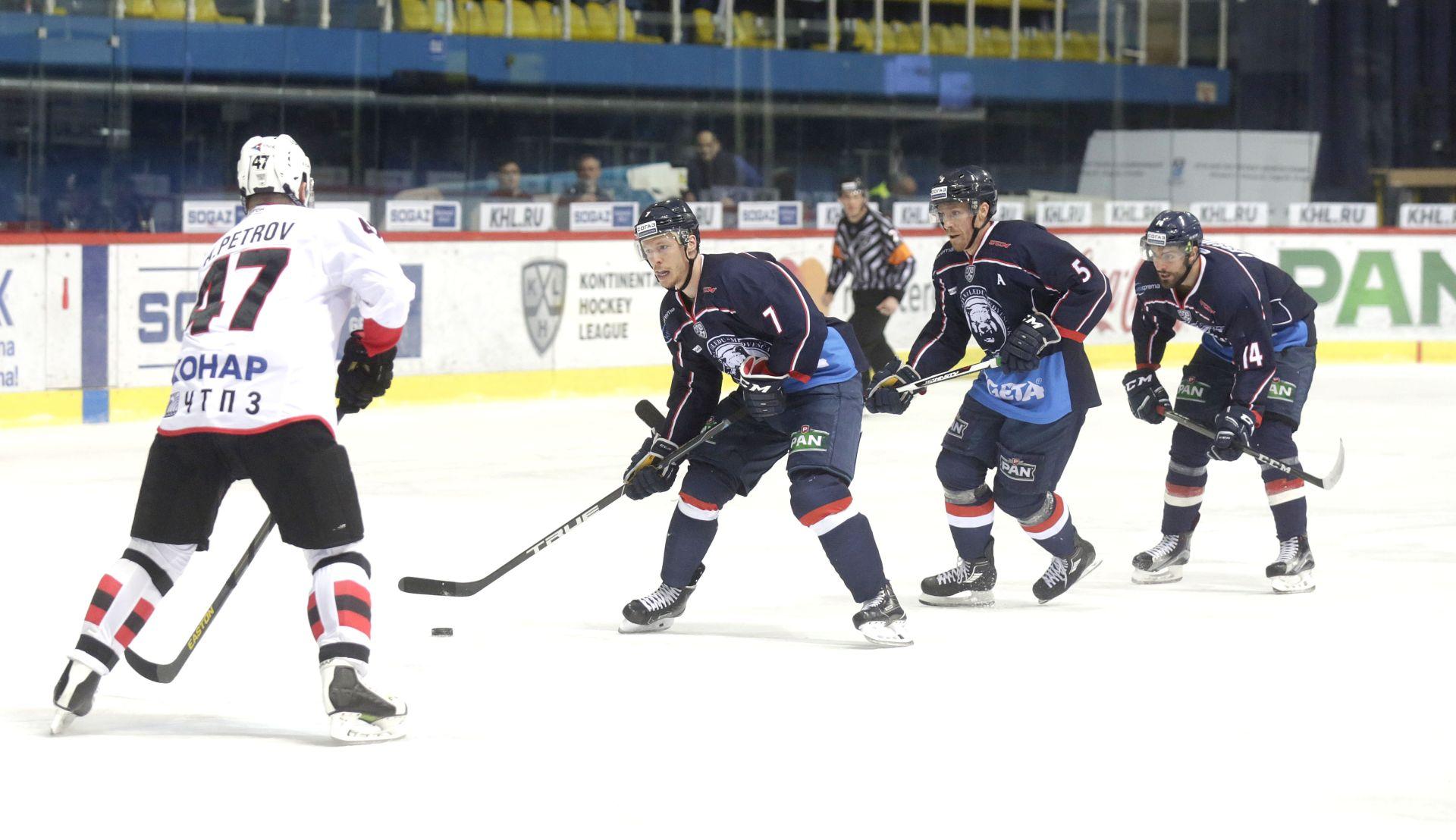 KHL Poraz Medveščaka