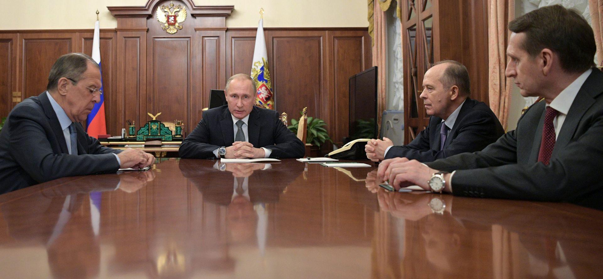 RUSIJA Putin naredio pojačane mjere sigurnosti tajnih službi